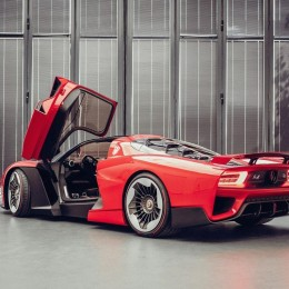 Китайский гибридный гиперкар, бросивший вызов Bugatti Chiron