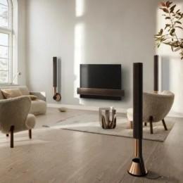 Bang & Olufsen представил динамики с подвижными занавесками
