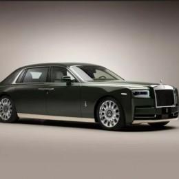 Rolls-Royce и Hermès создали уникальный Phantom Oribe