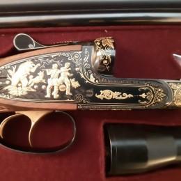 Инкрустированное золотом ружьё МЦ-111