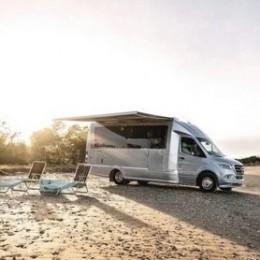 Mercedes-Benz и Airstream создали роскошный дом на колесах