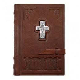 Библия «Знамение» (телячья кожа, серебро)