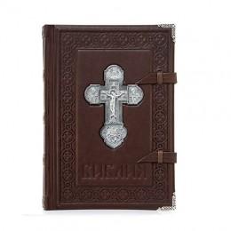 Библия «Ковчег» (телячья кожа, серебро)