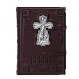 Библия «Сретение» (телячья кожа, серебро)