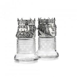 Набор шахматных солонок «Король и королева»
