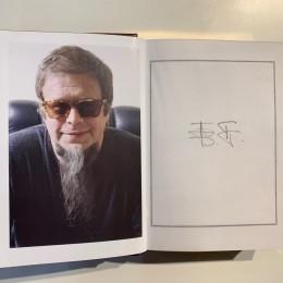 Автограф Бориса Гребенщикова (на книге)