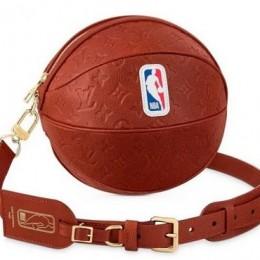 Louis Vuitton «Ball in Basket» сумка в виде баскетбольного мяча от Louis Vuitton