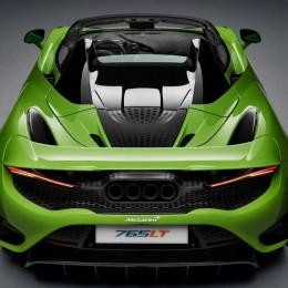 McLaren 765LT Spider – самый мощный кабриолет британского бренда