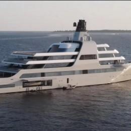 Мега-яхта Абрамовича за 610 миллионов долларов