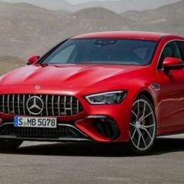 2023 Mercedes-AMG GT 63 S E Performance – первый гибридный электромобиль AMG