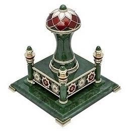"""Печать """"Мусульманская"""" (нефрит, золото, камни)"""
