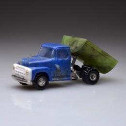 Мини-игрушка Самосвал (L=10 см, драг металл и камни)