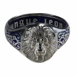 Кольцо Leo interius (серебро, 20 размер)