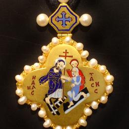 Крестик в византийском стиле