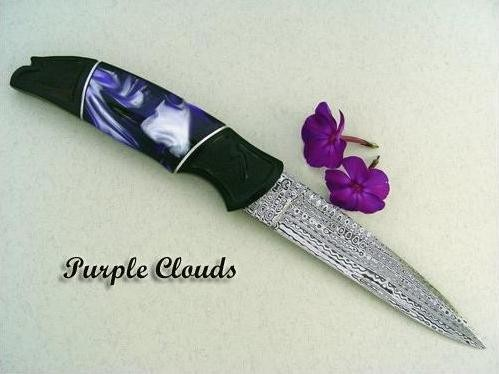 "Нож ""Пурпурное небо"""