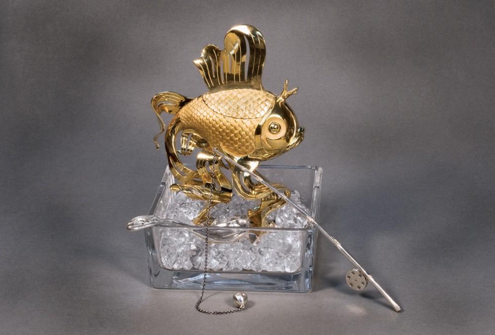 """Икорница """"Золотая рыбка"""""""