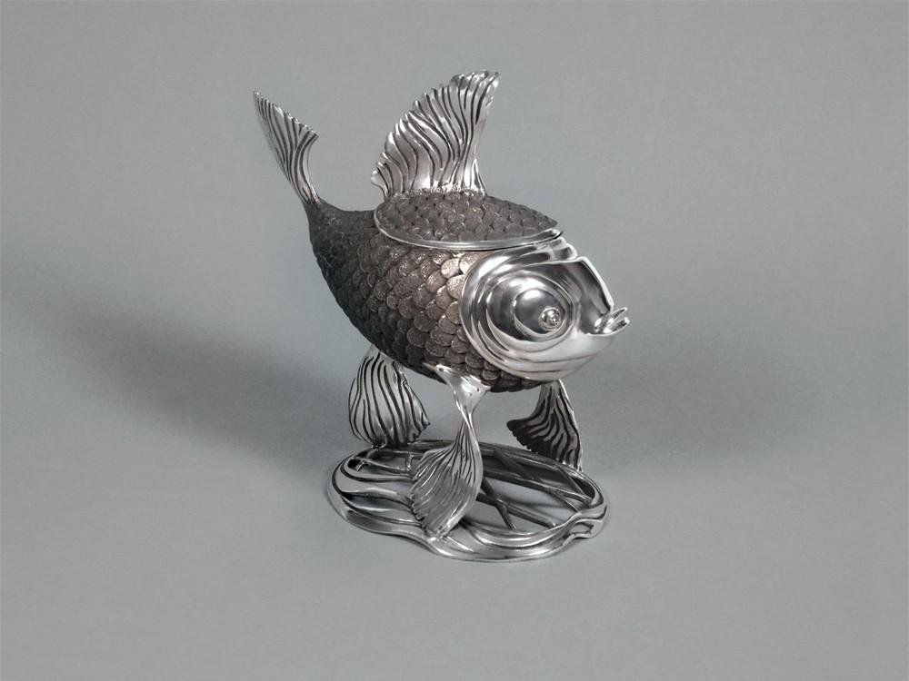 "Икорница ""Серебряная рыбка"""
