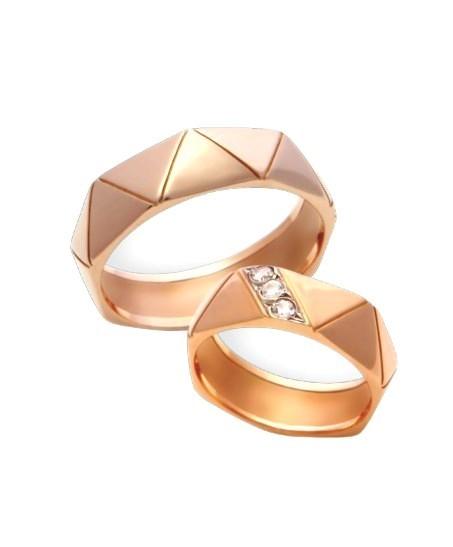 Свадебные кольца с бриллиантами