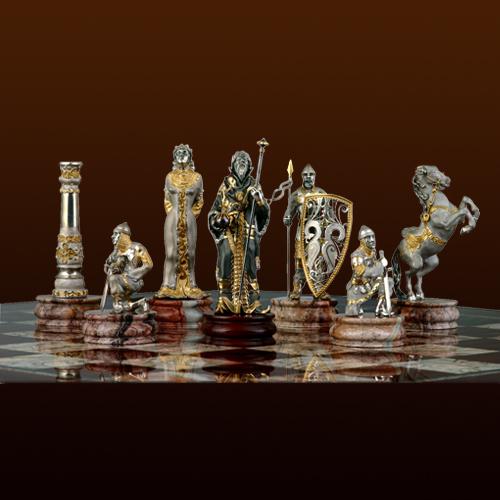 """Эксклюзивные шахматы """"Царские"""""""