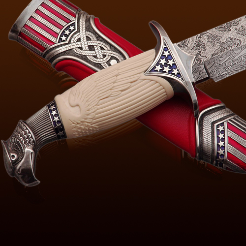 VIP подарок шефу- Американский нож