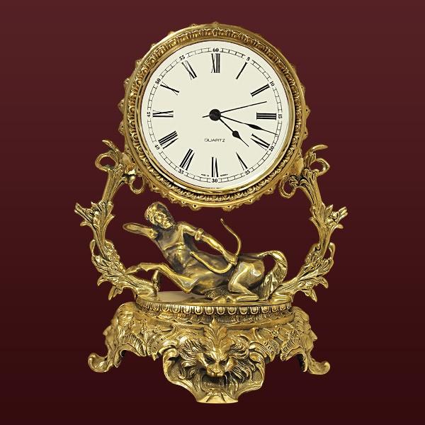 Часы из бронзы Стрелец