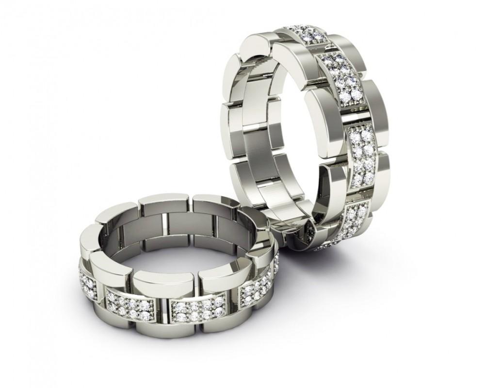 Обручальное кольцо HIP LIFE стиль