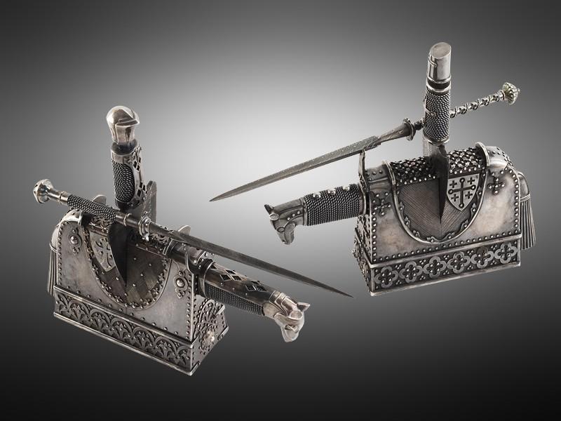 Композиция с ножами «Турнир»