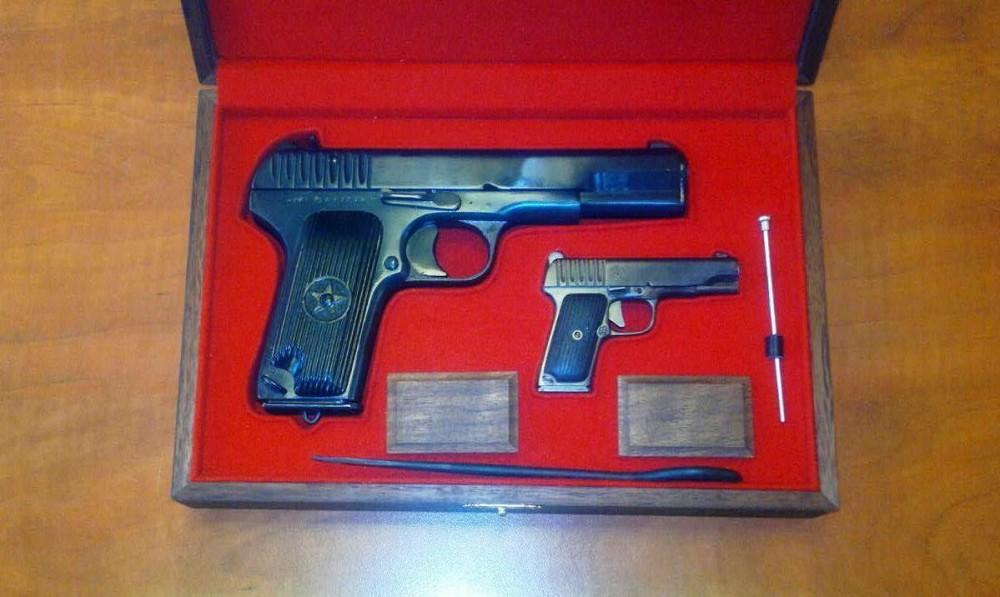 Сигнальный и миниатюрный пистолеты ТТ