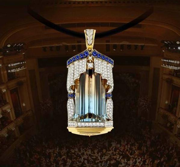 Венская опера - подвеска с бриллиантами