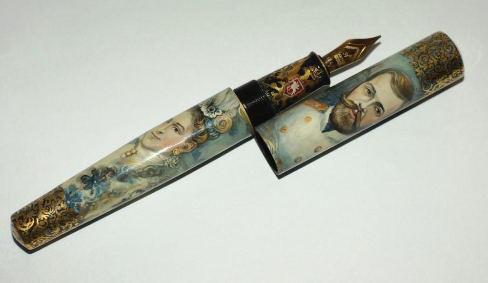 """Ручка """"Последние Императоры России"""""""