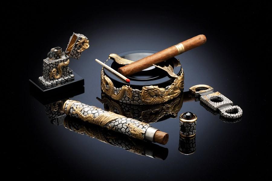 """Сигарный набор """"Драконы"""""""