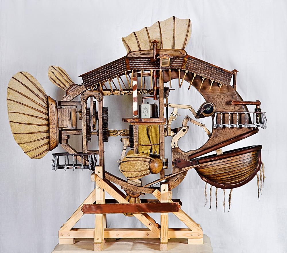 Рыба-луна (механическая рыба)