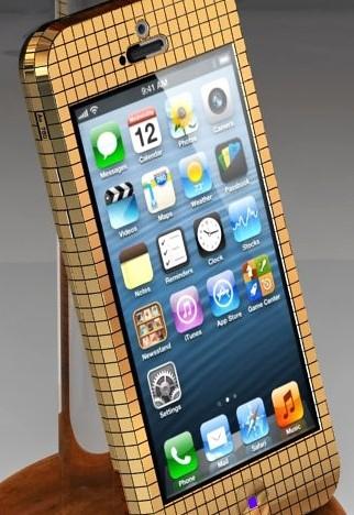 iPhone Full Gold 18Ct