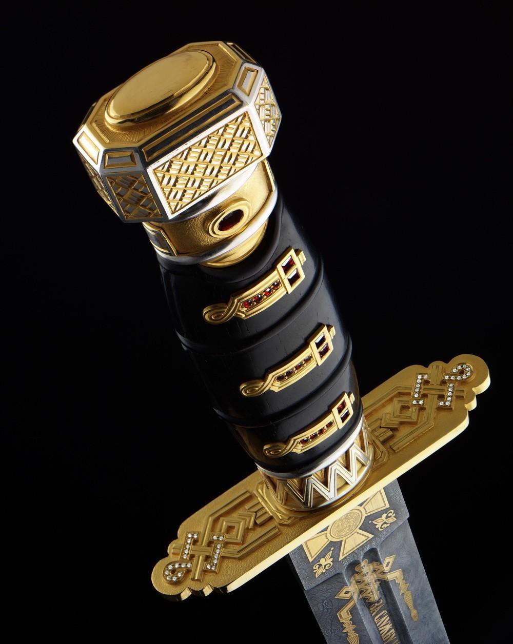 Кинжал с бриллиантами «За службу и храбрость»