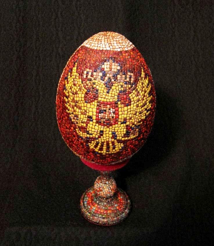 """Пасхальное яйцо """"Россия - Европа"""""""