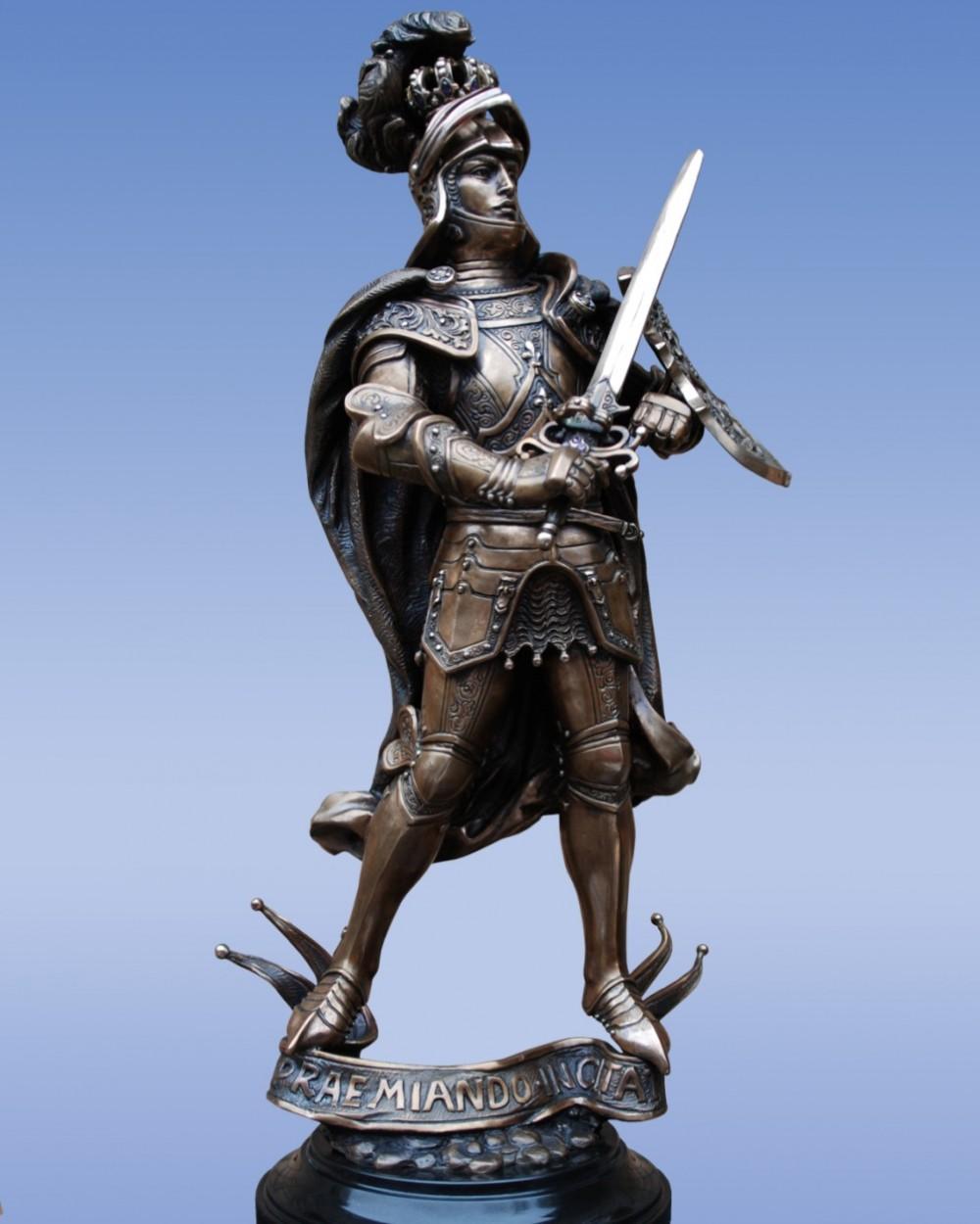 Рыцарь из бронзы