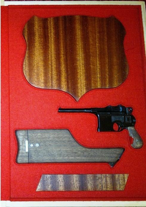 Адресная папка – с револьвером системы Маузера