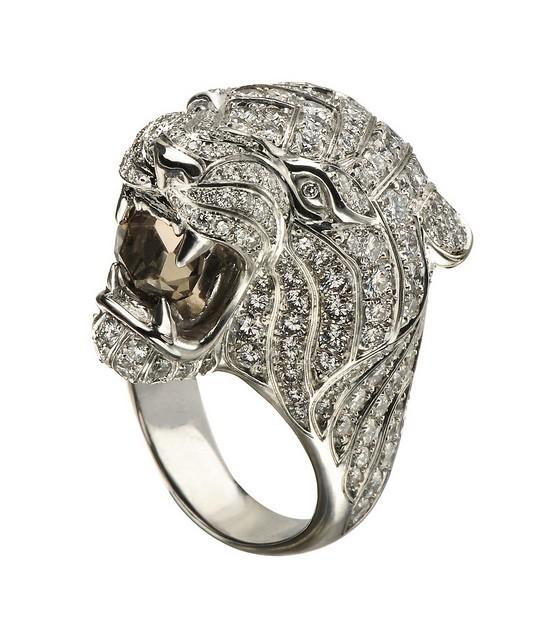 Carrera y Carrera кольцо Tiger