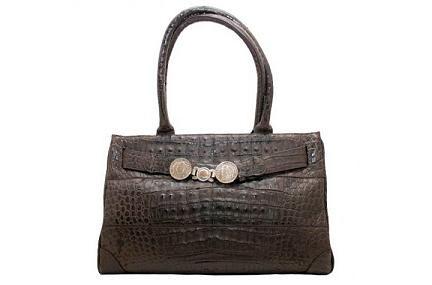 Крокодиловая сумка Tardini с аргентинским песо