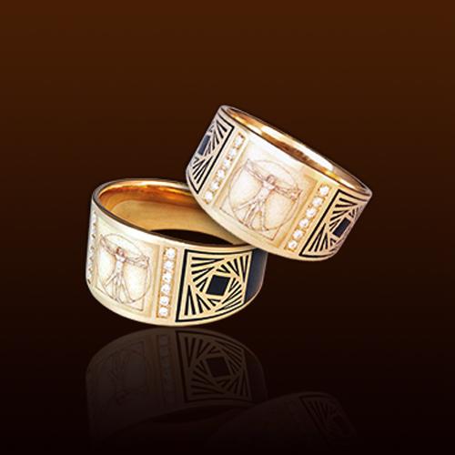 Эксклюзивные кольца Леонардо да Винчи