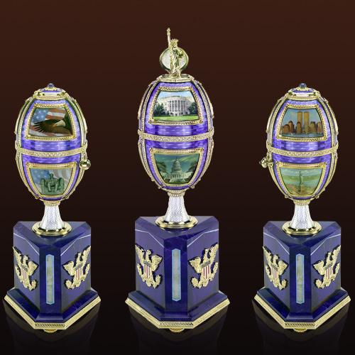 Механическое ювелирное яйцо