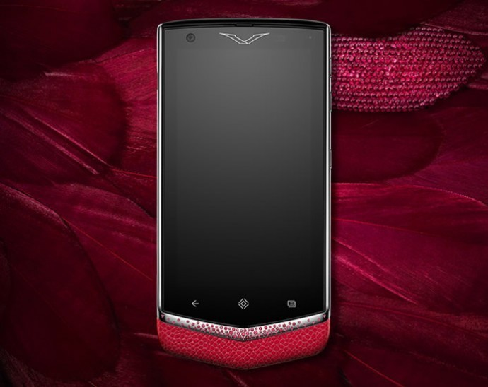 Vertu Constellation Rose Ruby