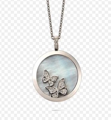 Carrera B. Mariposas Mother-of-Pearl & Diamonds