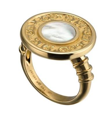 Carrera y Carrera кольцо Alegrias (перламутр)
