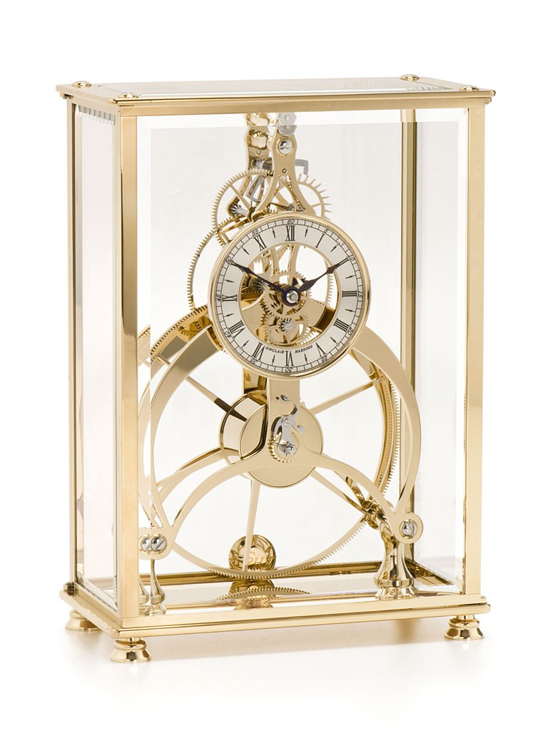 Rosemary Great Wheel & Brighton Pavillion Clock Gold Finish