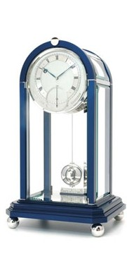Table Regulator Blue with rhodium finish