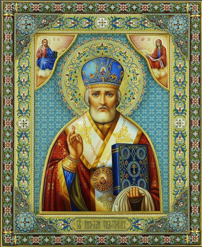 Большая икона Николая Чудотворца