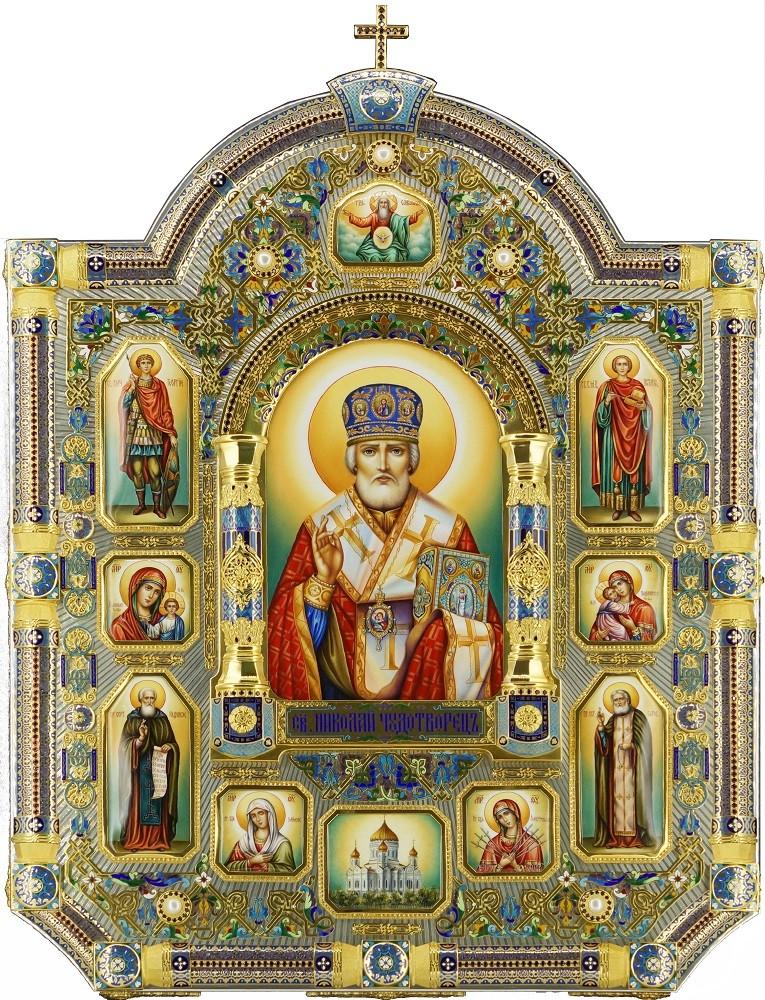 Храмовая икона Николая Чудотворца