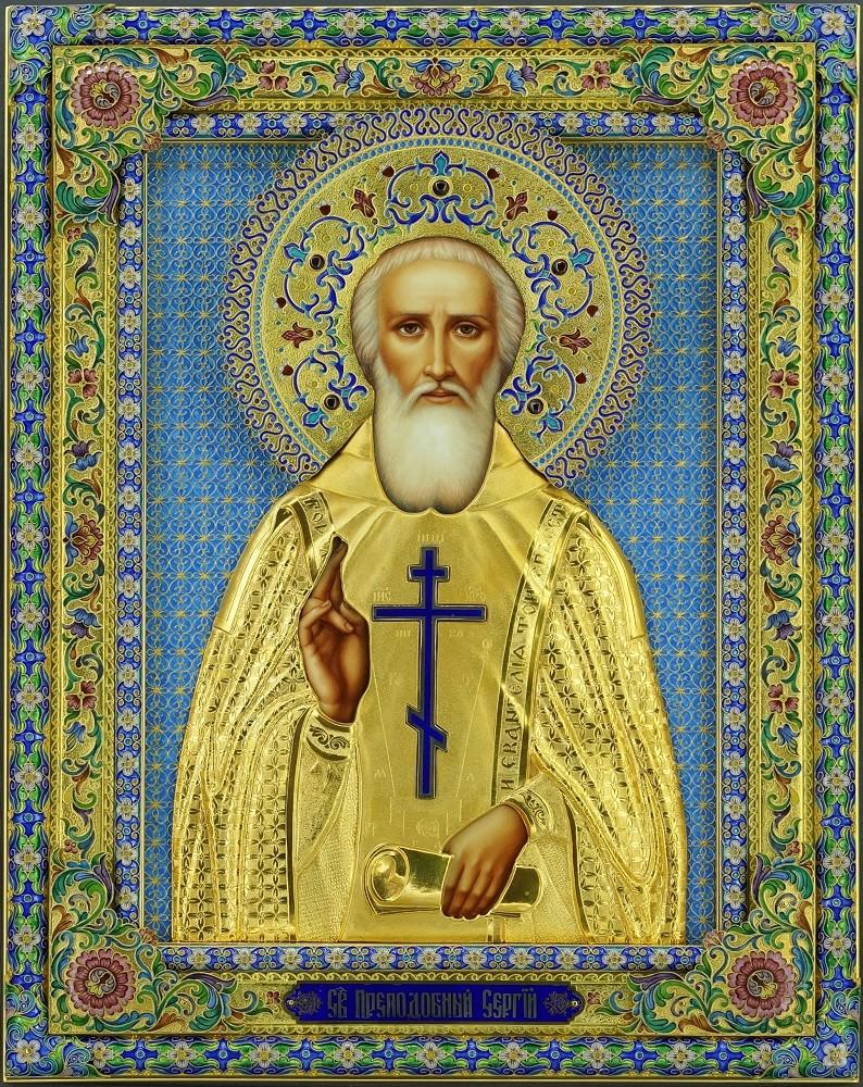 Икона Сергия Радонежского