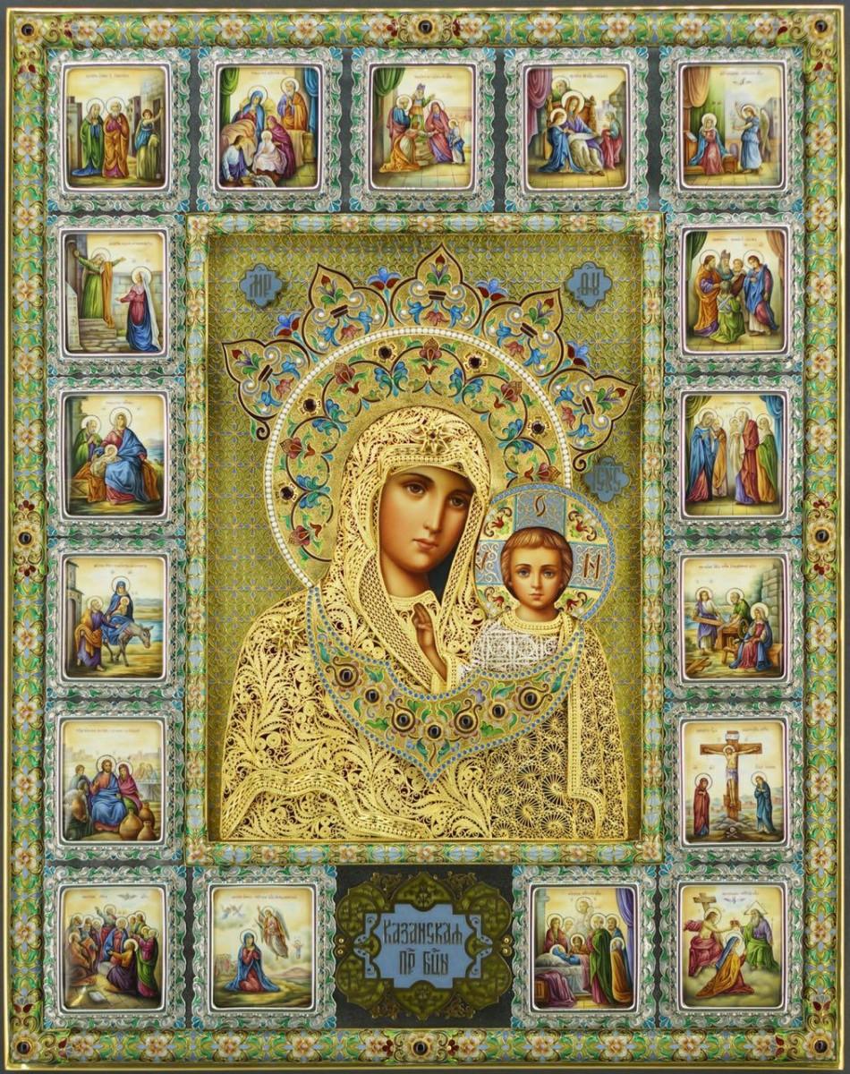 Казанская икона Богородицы